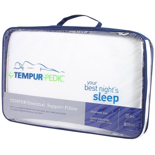 TEMPUR-Essential Support Memory Foam Pillow