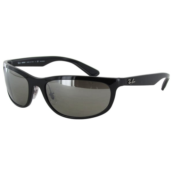 5014f00ad9 Ray-Ban Chromance RB4265 Mens Black Frame Silver Mirror Polarized Lens  Sunglasses