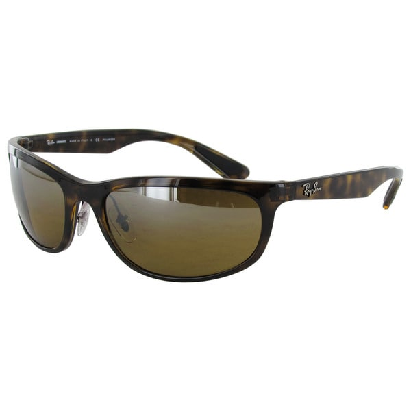 994d834634 Ray-Ban Chromance RB4265 Mens Tortoise Frame Brown Mirror Polarized Lens  Sunglasses