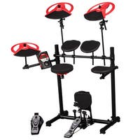 ddrum DD Beta XP Electronic Drum Kit w/ Dual Zone Snare Drum, Bass Drum Pad & Pedal