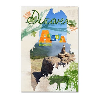 Lisa Powell Braun 'Maine Travel' Canvas Art