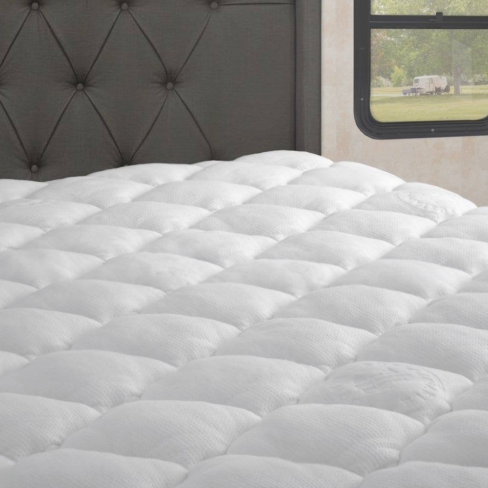 Kotter Home Extra Plush Rayon From Bamboo RV Mattress Pad...