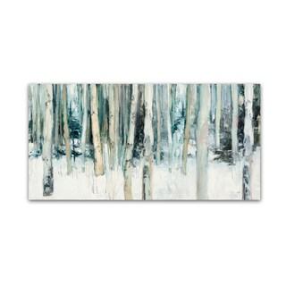 Julia Purinton 'Winter Woods III' Canvas Art