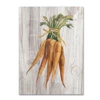 Silvia Vassileva 'Market Vegetables I' Canvas Art