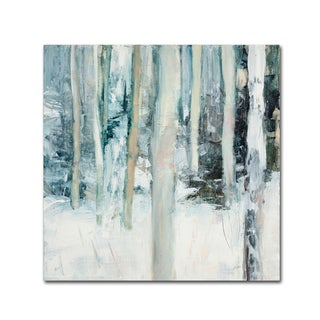 Julia Purinton 'Winter Woods I' Canvas Art