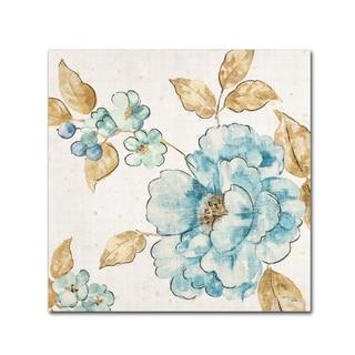 Pela 'Blue Blossom III' Canvas Art