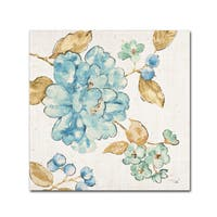 Pela 'Blue Blossom II' Canvas Art