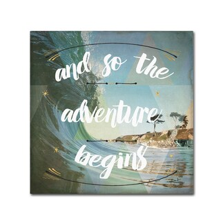 Jess Aiken 'Sea View II' Canvas Art