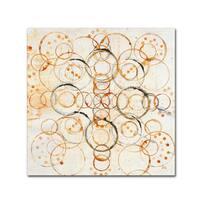 Melissa Averinos 'Henna Mandala I Crop' Canvas Art