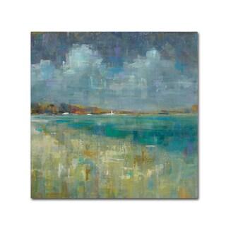 Danhui Nai 'Sky and Sea Crop' Canvas Art