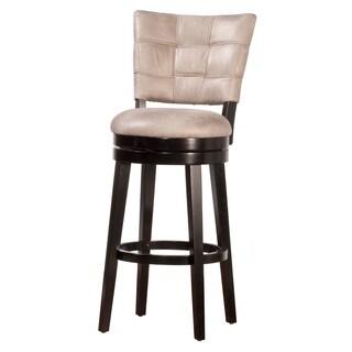 Hillsdale Furniture Keade Swivel Bar Stool in Black