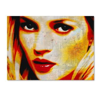 Andre Monet 'Kate' Canvas Art