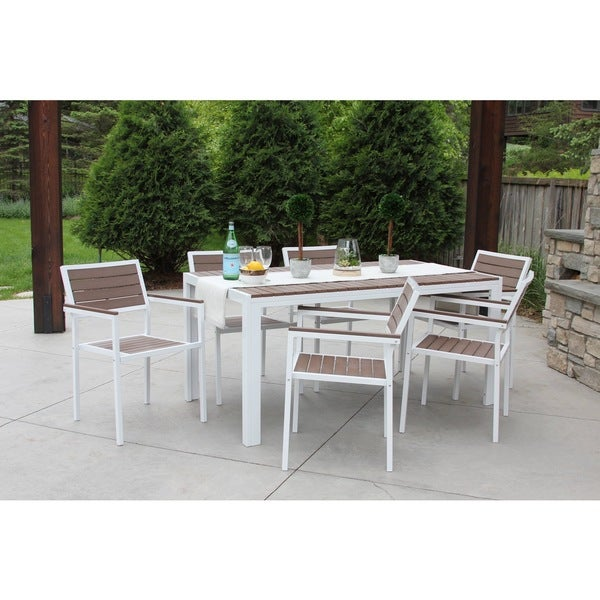 Shop Discontinued 7 Piece All Weather Outdoor Patio