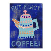 Summer Tali Hilty 'Coffee 2' Canvas Art