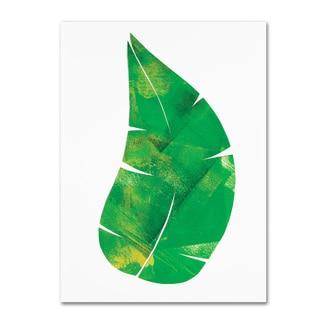 Summer Tali Hilty 'Palm Leaf 6' Canvas Art