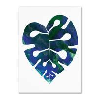Summer Tali Hilty 'Palm Leaf 4' Canvas Art