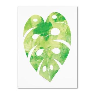 Summer Tali Hilty 'Palm Leaf 2' Canvas Art