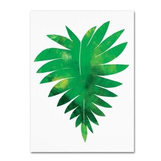 Summer Tali Hilty 'Palm Leaf 1' Canvas Art