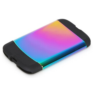 Umbra Metallic Bungee Rainbow Credit Card Case