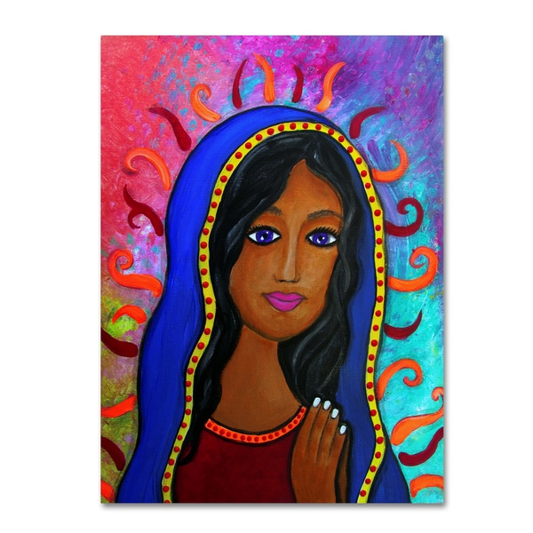 Shop Prisarts Our Lady Of Guadalupe Canvas Art On Sale Free