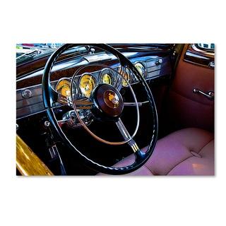 The Lieberman Collection 'Steering Wheel' Canvas Art