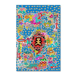Miguel Balbas 'Mix 2' Canvas Art