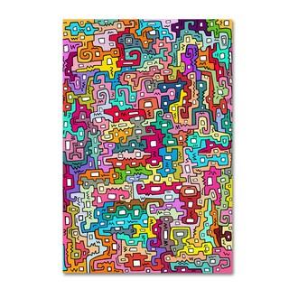 Miguel Balbas 'Life 3' Canvas Art