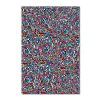 Miguel Balbas 'Abstract 3815' Canvas Art