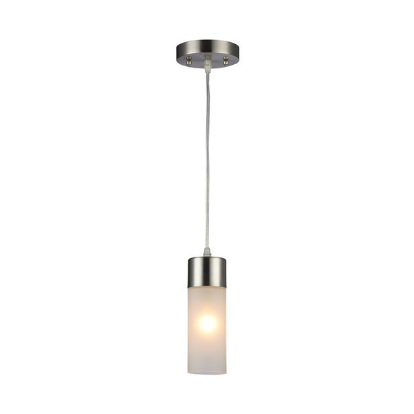 Chloe Ulla Collection 1-light Brushed Nickel Mini Pendant