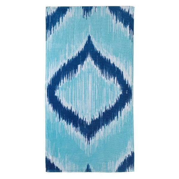 Ikat 32x62-inch Beach Towel