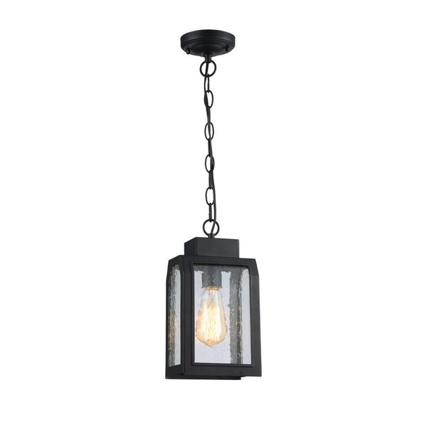 Chloe Milton Collection 1-light Textured Black Mini Pendant