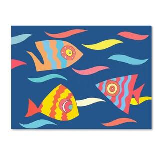 Miguel Balbas 'Fish' Canvas Art