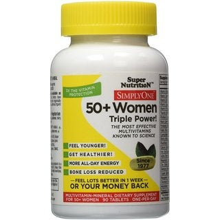 Super Nutrition Simply One 50+ Women (90 Tablets)