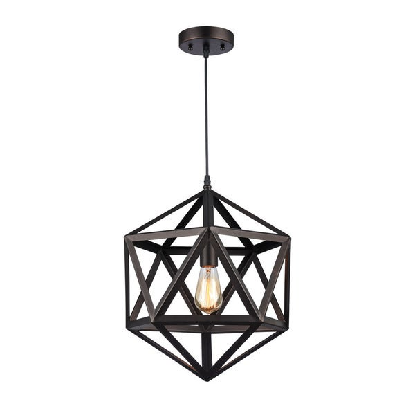 Chloe Osbert Collection 1-light Oil Rubbed Bronze Pendant