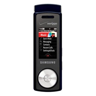 OEM TPSCHU470BB Verizon Samsung SCH-U470 Black/Blue Mock Dummy Display Toy Cell Phone Good for Store Display or for Kids to Play