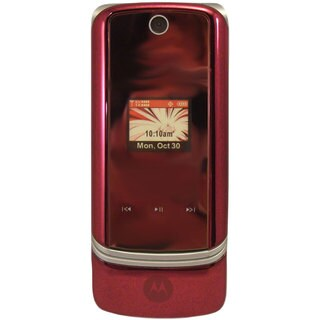 OEM TPMTK1MR Verizon Motorola K1m / KRZR - Fire Red Mock Dummy Display Toy Cell Phone Good for Store Display or for Kids to Play