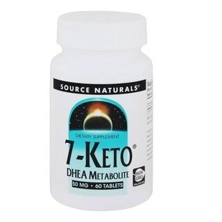 Source Naturals 7-Keto Dhea 50mg (60 Tablets)