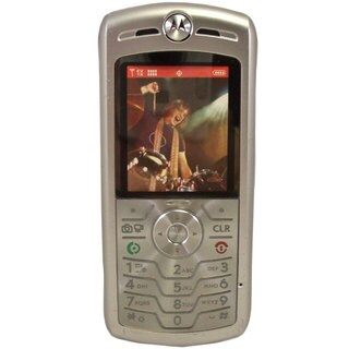 OEM TPMTL7CS Verizon Motorola L7C Silver Mock Dummy Display Toy Cell Phone Good for Store Display or for Kids to Play