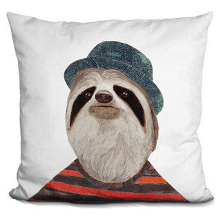 Animal Crew 'Sloth' Throw Pillow