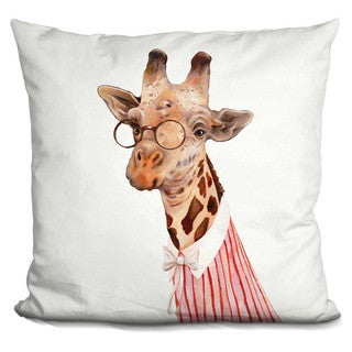 Animal Crew 'Mrs Giraffe' Throw Pillow