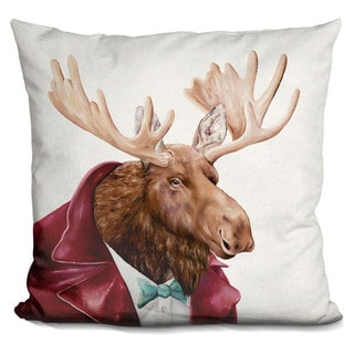 Animal Crew 'Moose' Throw Pillow