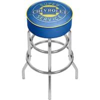 Chevrolet Padded Swivel Bar Stool - Super Service