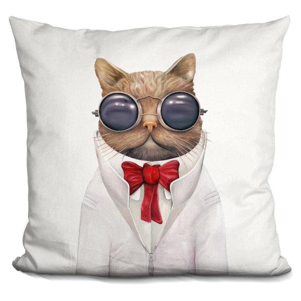 Animal Crew 'Astro cat' Throw Pillow