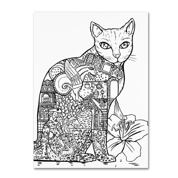 Shop Oxana Ziaka Cat 2 Canvas Art