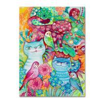 Oxana Ziaka '3+3' Canvas Art