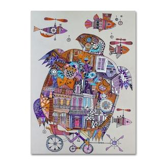Oxana Ziaka 'Turtle 3' Canvas Art