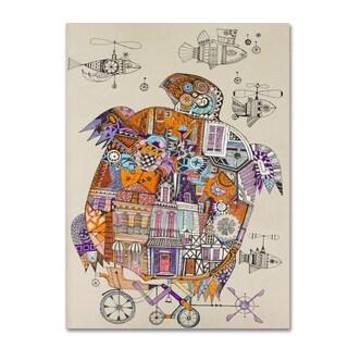 Oxana Ziaka 'Turtle 2' Canvas Art