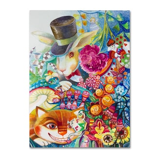 Oxana Ziaka 'Alice In Wonderland' Canvas Art