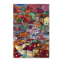 Oxana Ziaka 'The New Middle-Ages' Canvas Art