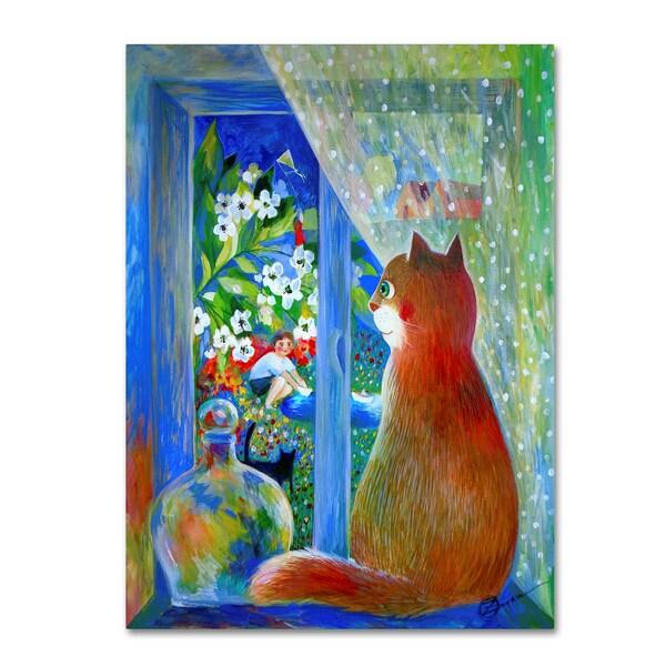Oxana Ziaka 'After the Storm' Canvas Art